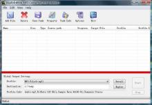 Click to view Bluefox WMA MP3 converter 3.01.12.1008 screenshot